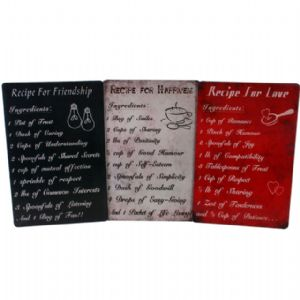 Inspirational Signs - Metal Wall Word Art Plaques